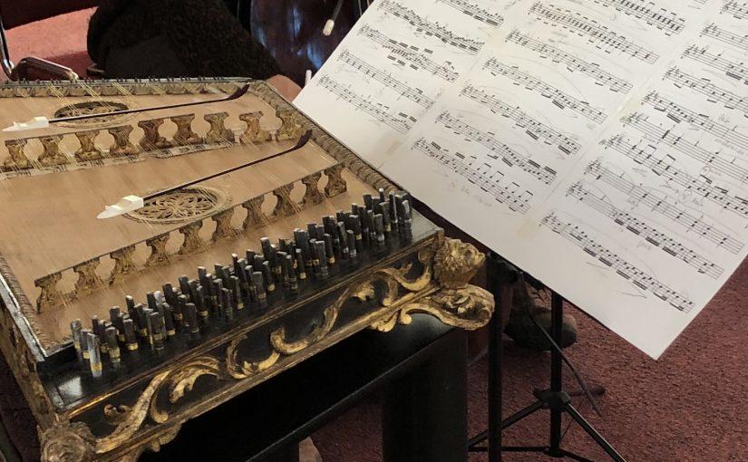 Fragmenten repetitie concert Paaskerk Baarn