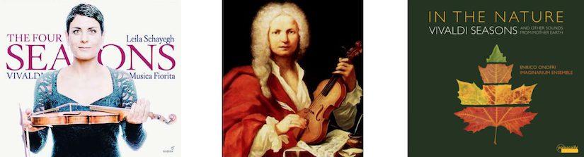 2 x Vivaldi's 4 Jaargetijden