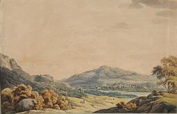 Johann Kniep (1779-1843): Gegend bei Trient