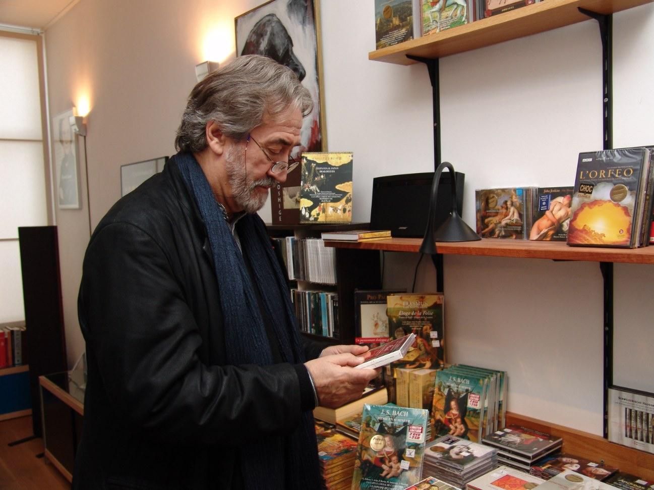 Jordi Savall op bezoek bij Prelude
