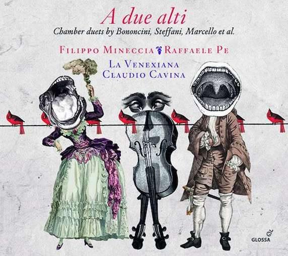 A due alti – Chamber Duets by Bononcini, Steffani, Marcello et al.