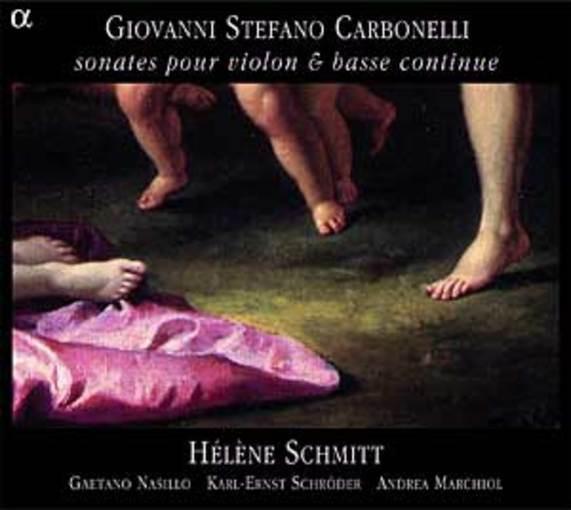 Carbonelli: Sonates pour violon et basse continue
