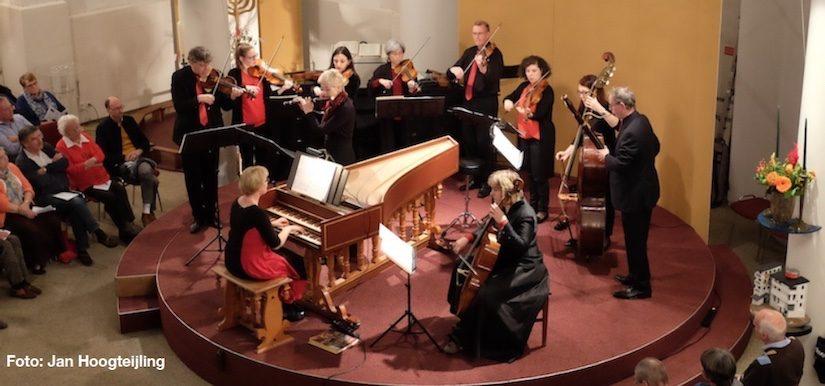 Apollo Ensemble met gigantisch fraai barokconcert in Baarn