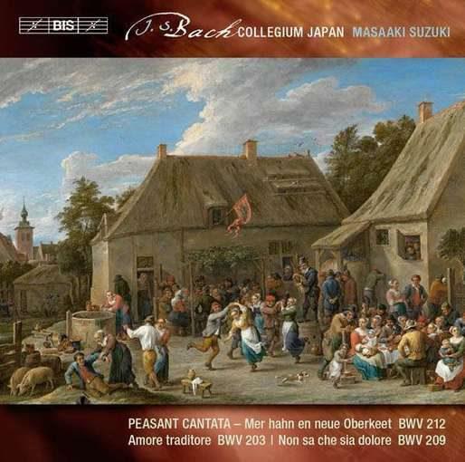 J.S. Bach: Cantates BWV 203, 209 en 212