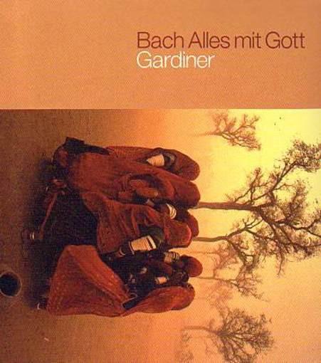 Gardiner zet het mes in Bach