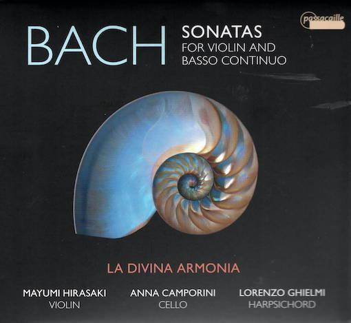 J.S. Bach: Sonatas for Violin & Basso continuo