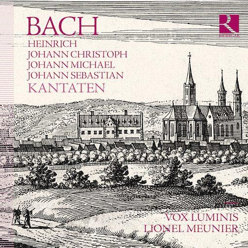 H/J.C/J.M. & J.S. Bach: Kantaten