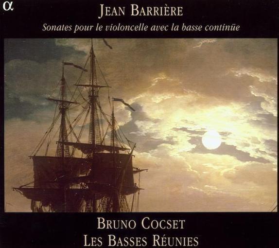 Barrière: Sonates pour le violoncelle avec la basse continue (Vol. 1)