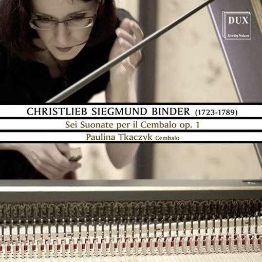Binder: Sei Suonate per il Cembalo op. 1