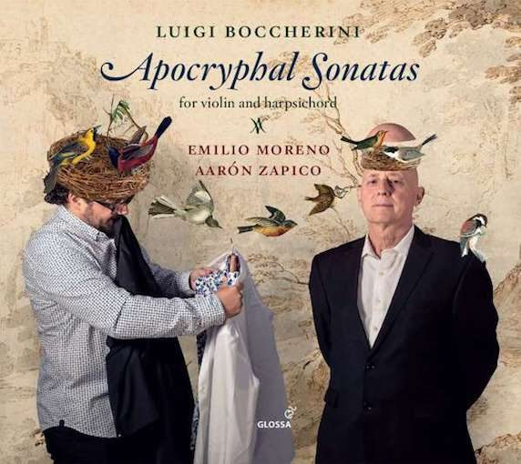 Boccherini: Apocryphal Sonatas for Violin and Harpsichord