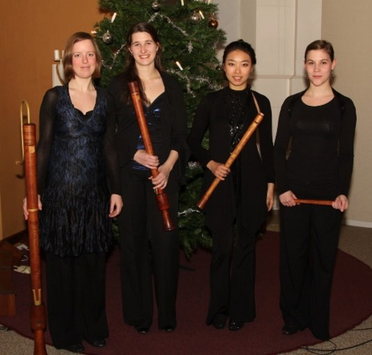 Kerstconcert met het Boreas Quartett