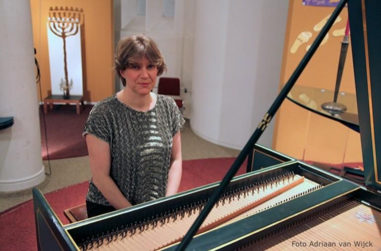 Céline Frisch bewijst haar klasse in Baarnse Paaskerk