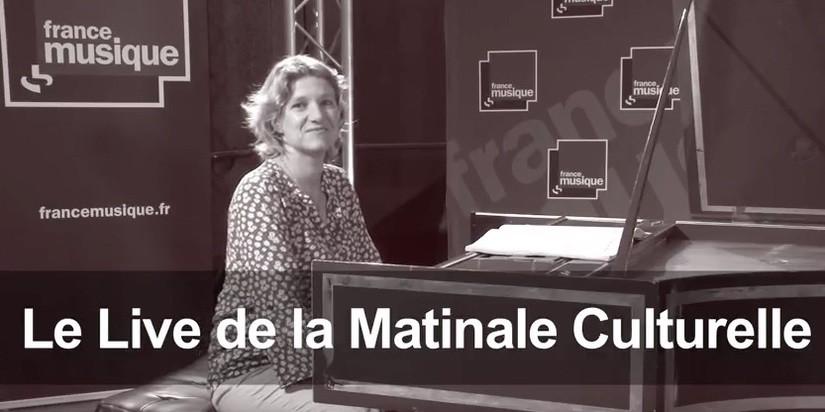 Céline Frisch op de radio