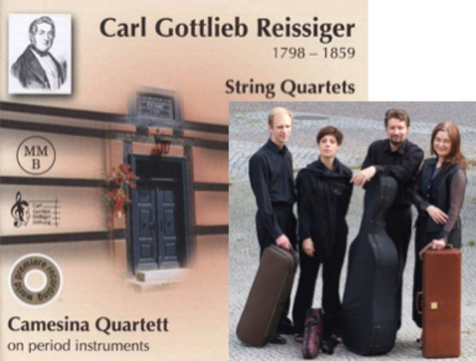 Eerstvolgend concert in Baarnse Paaskerk: Camesina Quartett