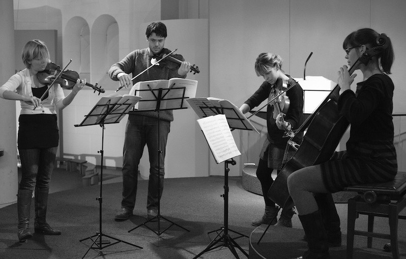 Wat een geweldig Chiaroscuro Quartet!