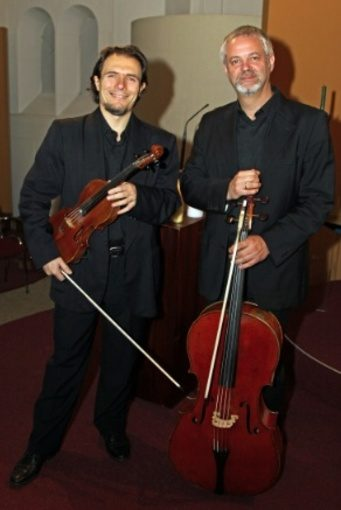 Fabrizio Cipriani & Antonio Fantinuoli in Baarnse Paaskerk