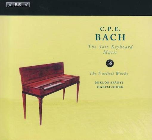 C.P.E. Bach: The Solo Keyboard Music Vol. 38