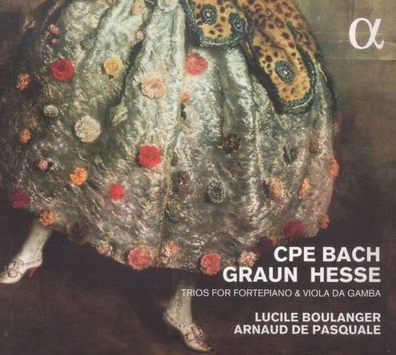 C.P.E. Bach, Hesse, Graun: Trios for Fortepiano & Viola da gamba