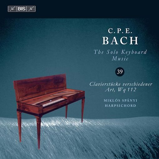 CPE Bach: Clavierstücke verschiedener Art, Wq 112