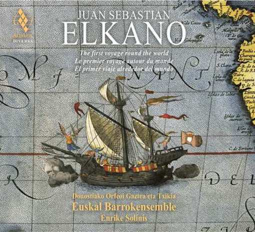 J. S. Elkano's first voyage round the world