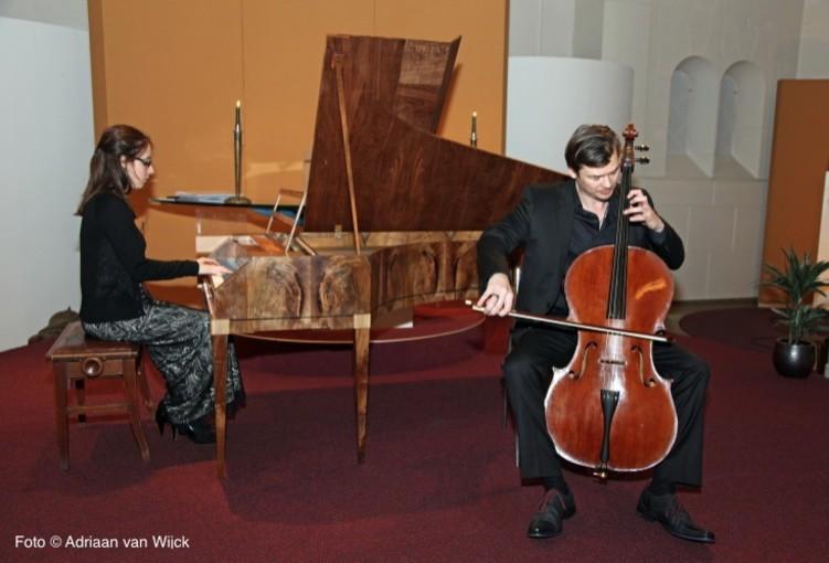 Emmanuel Jacques en Maude Gratton schitteren in Baarnse Paaskerk