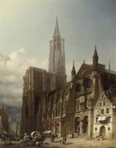 Kathedraal Straatsburg (Friedrich Eibner)