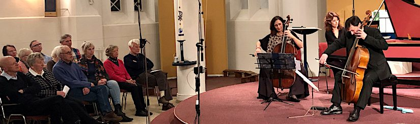 Gaetano Nasillo maakt bekende en onbekende  cellomuziek bemind in Baarnse Paaskerk!