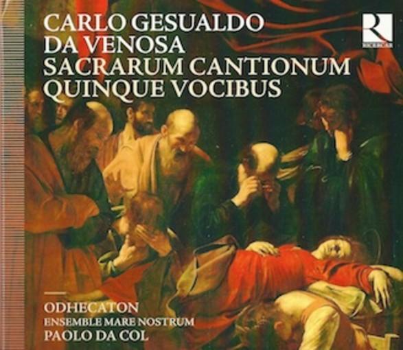 Gesualdo: Sacrarum Cantionum quinque vocibus