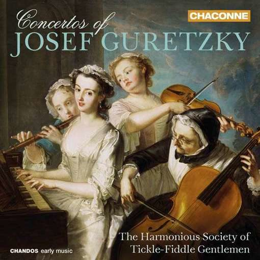 Guretzky: Concertos for Cello & Violin
