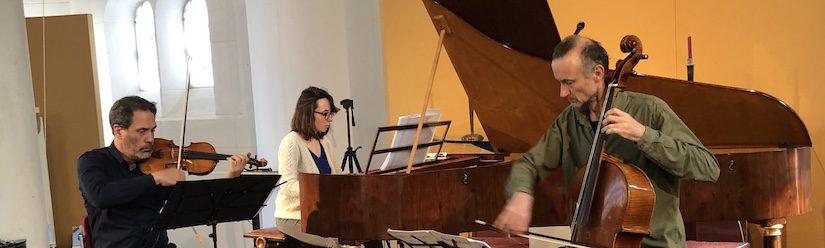Ensemble <em>Il Convito</em> met Maude Gratton, Pablo Valetti en Bruno Cocset in Paaskerk