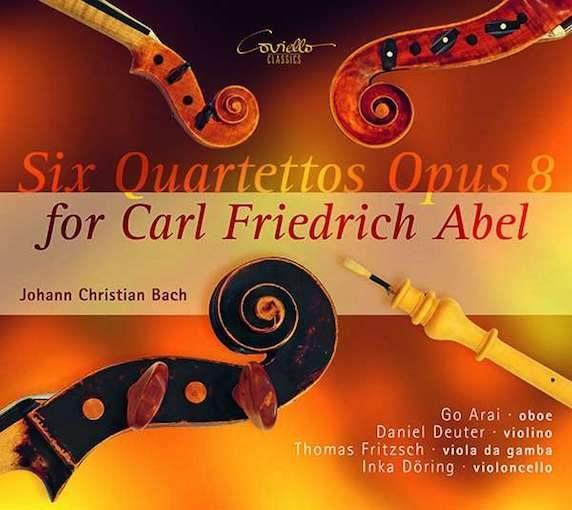 J.C. Bach: Six Quartettos Opus 8