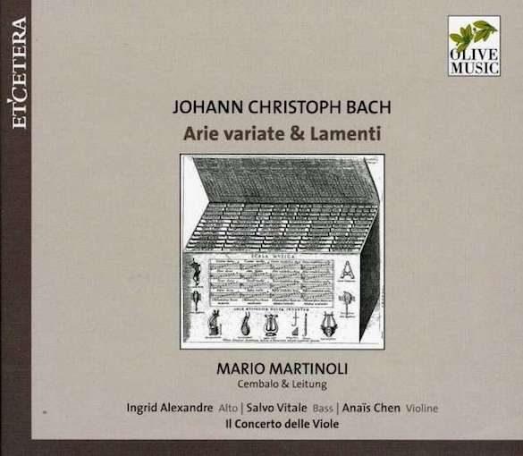 J.C. Bach: Arie variate & Lamenti