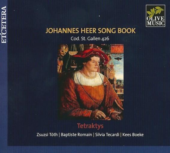 Johannes Heer Song Book – Codex Sankt Gallen 426