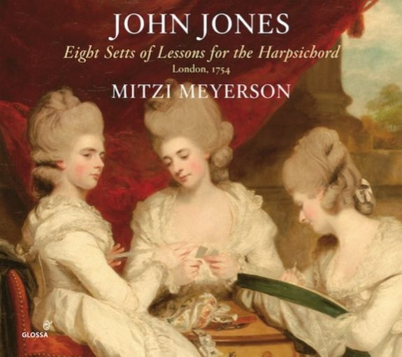 Jones: Eight Setts of Lessons for the Harpsichord