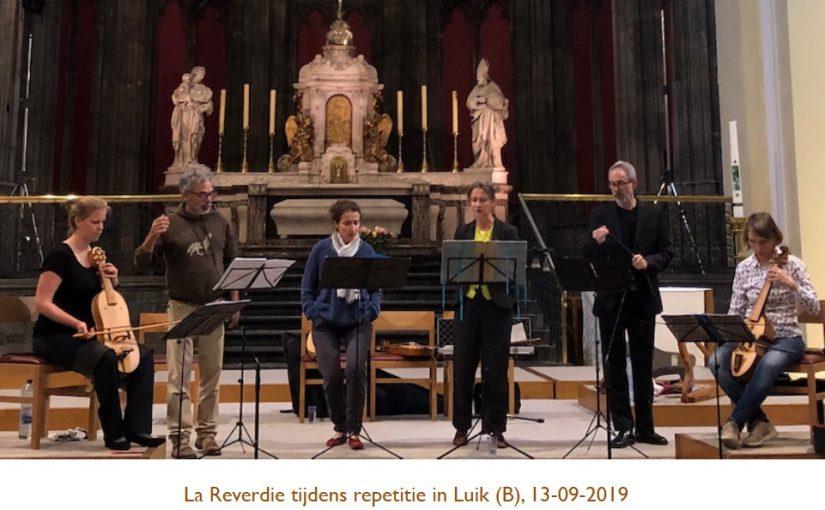 <em>laReverdie</em> repeteert voor 14-september-concert in Baarn