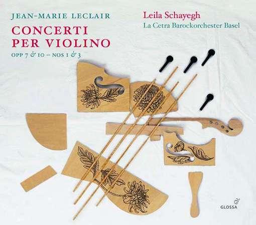 Leclair: Concerti per Violino