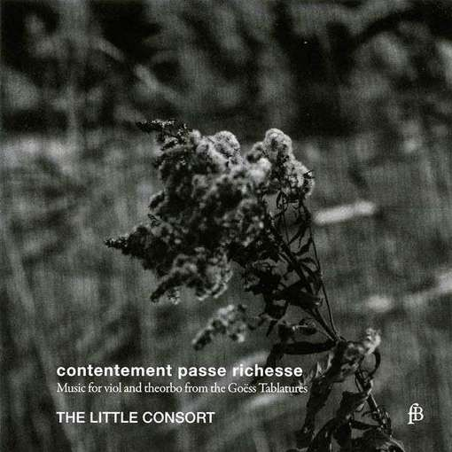 Contentement passe richesse – Music for Viol and Theorbo from the Goëss Tablatures
