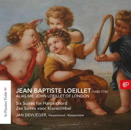 Loeillet: Zes suites voor Klavecimbel