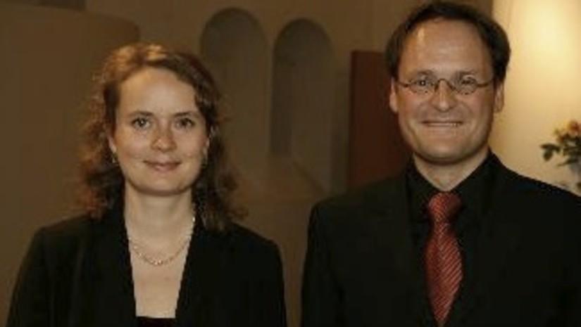 Margit Übellacker en Jürgen Banholzer concerteren in Baarn
