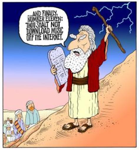 Het elfde gebod: Gij zult niet downloaden