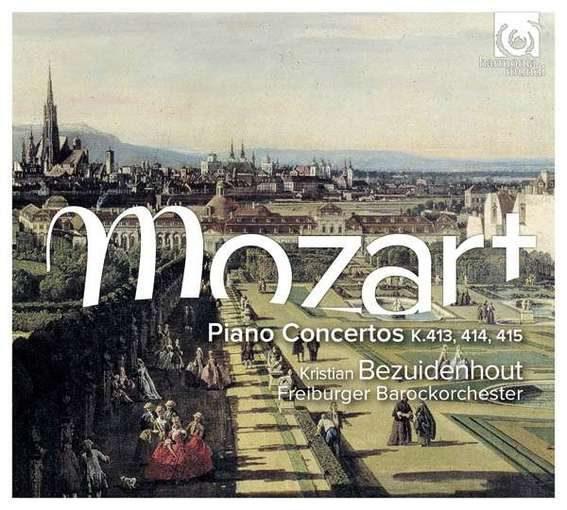 Mozart: Piano Concertos K 413, 414 & 415