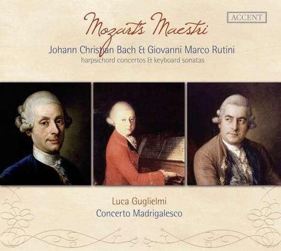 J. Chr. Bach & Rutini: Mozarts Maestri – Harpsichord Concertos & Keyboard Sonatas