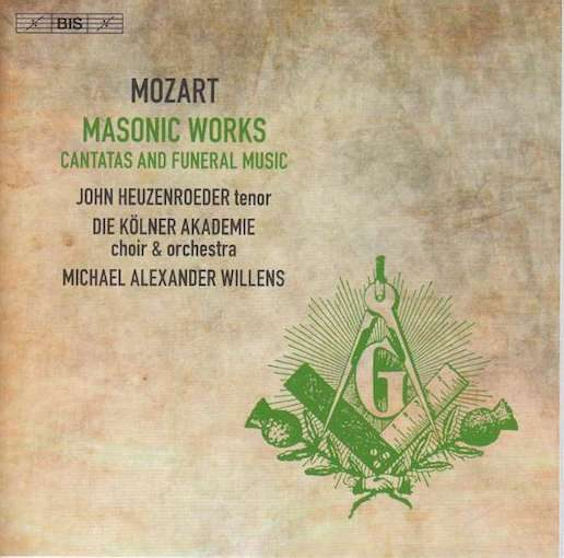 Mozart: Masonic Works – Cantatas and Funeral Music