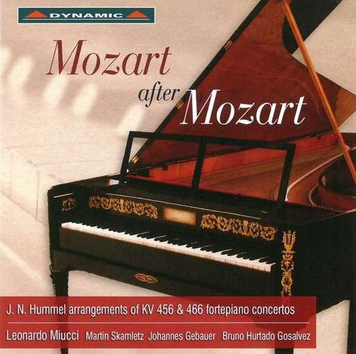 Mozart after Mozart – Arrangements by Hummel of Mozarts KV 456 & 466 Fortepiano Concertos