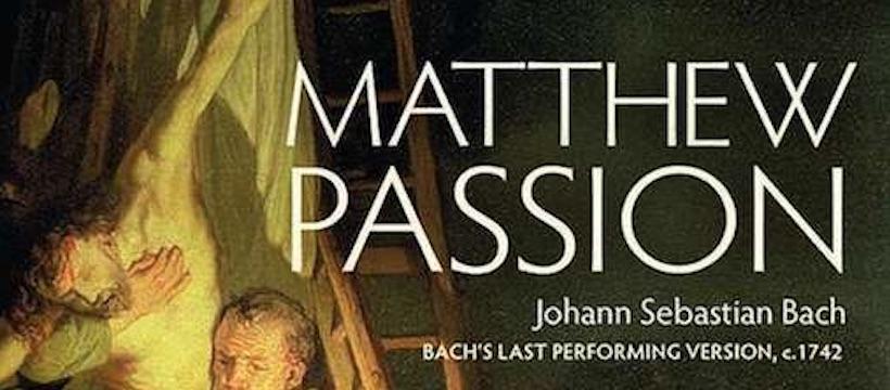 Wonderbaarlijk mooie Mattheuspassie