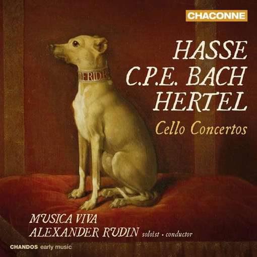 Hasse, C.P.E. Bach, Hertel: Cello Concertos