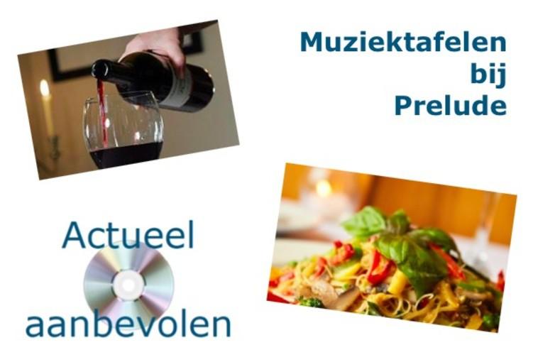 Muziektafelen bij Prelude