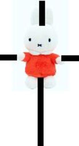 Nog even en Nijntje hangt aan het kruis
