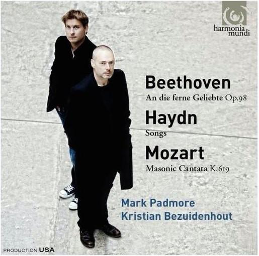 Mark Padmore sings Beethoven, Haydn & Mozart