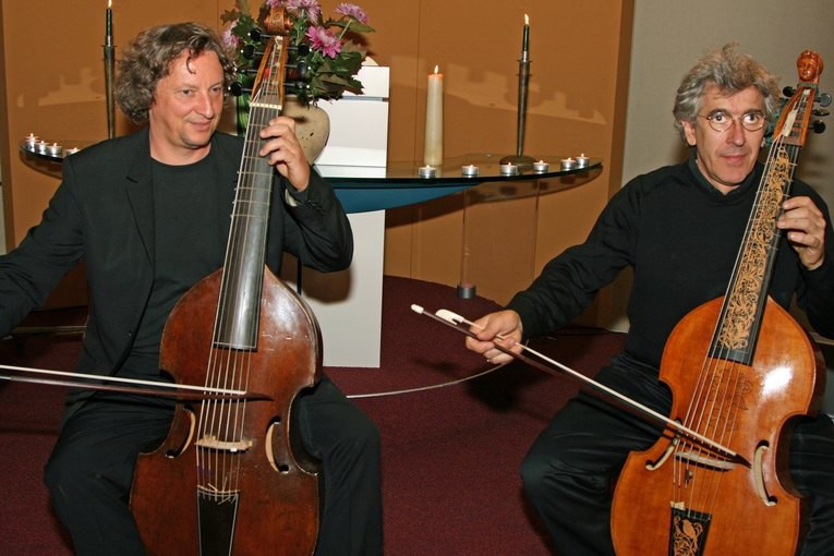 Philippe Pierlot en Rainer Zipperling in Baarn